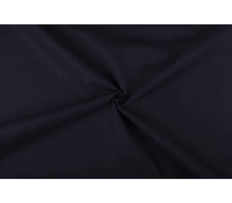 Canvas gabardine donkerblauw