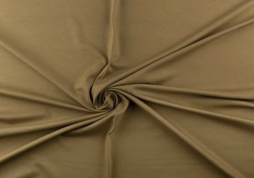 De Stoffenkamer Extra dik tricot bruingroen