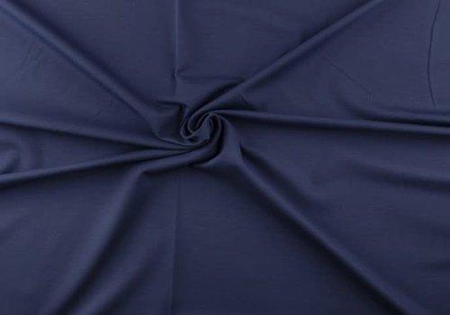 De Stoffenkamer Extra dik tricot jeansblauw