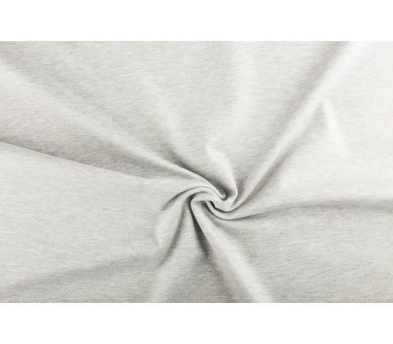 Extra dik tricot grijs melé