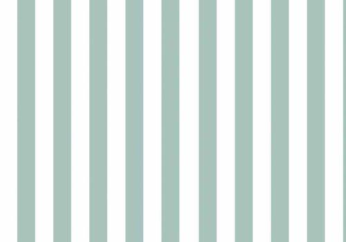 Elvelyckan Vertical Stripes Mint - Elvelyckan Design