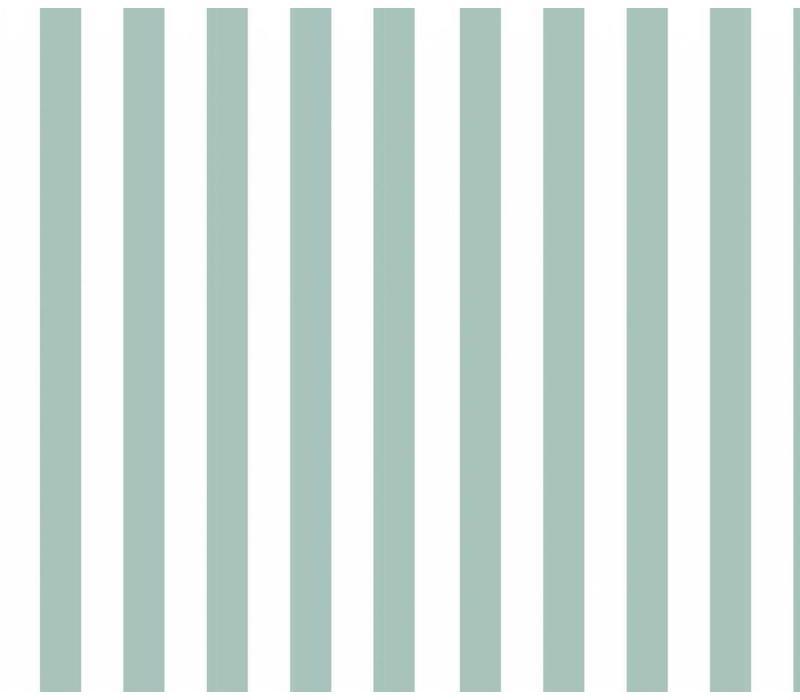 Vertical Stripes Mint - Elvelyckan Design