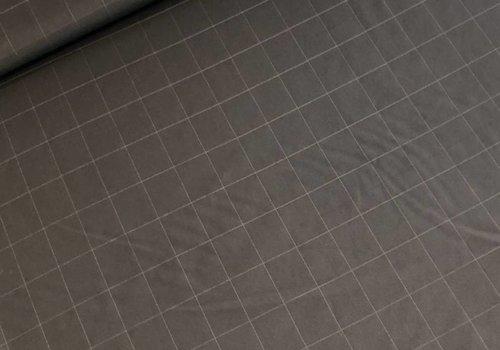 De Stoffenkamer Viscosemix grid black