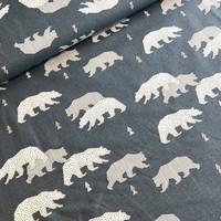 Bears blue Katoen