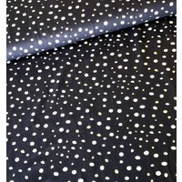 Sparkle Tricot Dots navy