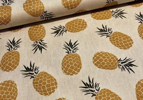 De Stoffenkamer Stevige katoen Pineapple