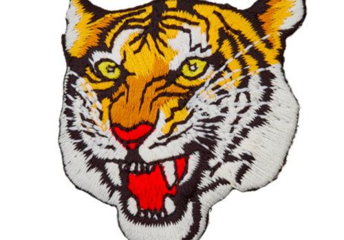 De Stoffenkamer Strijkapplicatie tijger
