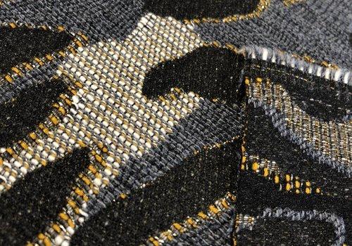 La Maison Victor - editex Geweven Stof leopard gold