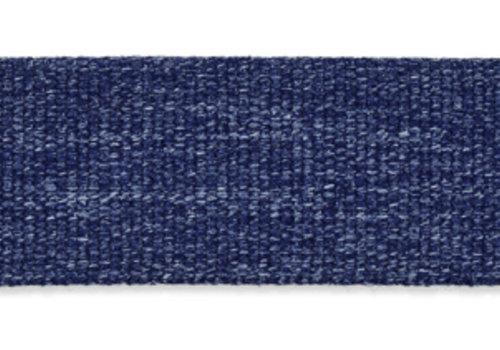 De Stoffenkamer Tassenband blauw melange