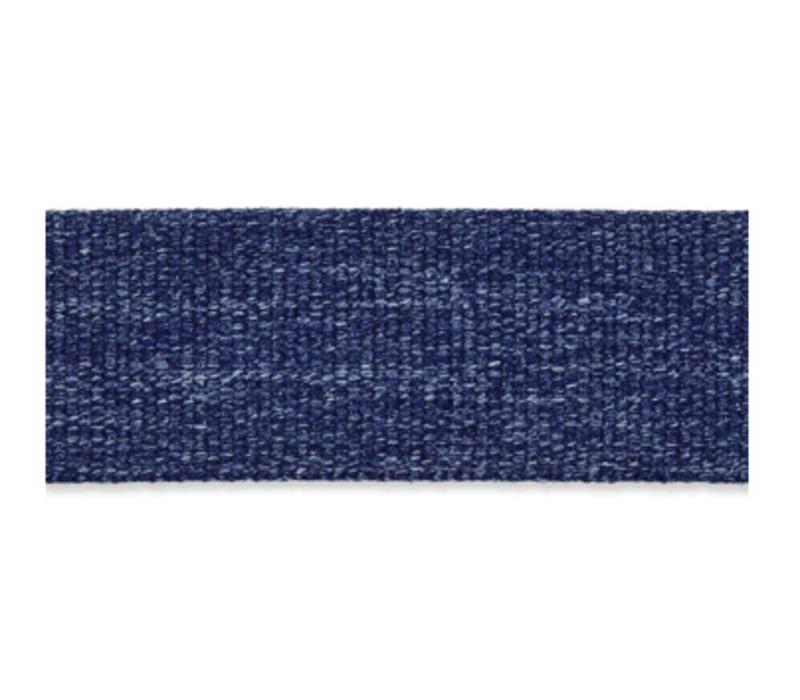 Tassenband blauw melange