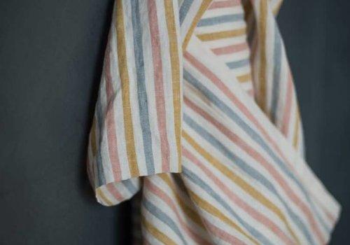De Stoffenkamer Washed Linen Suzy stripe