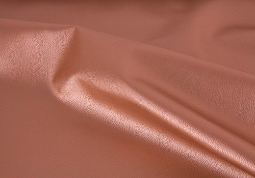 De Stoffenkamer Faux-Leather Terracotta metallic