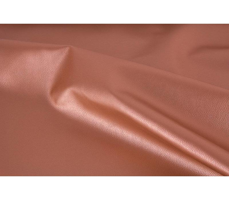 Faux-Leather Terracotta metallic