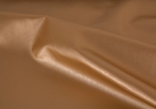 De Stoffenkamer Faux-Leather Gold metallic
