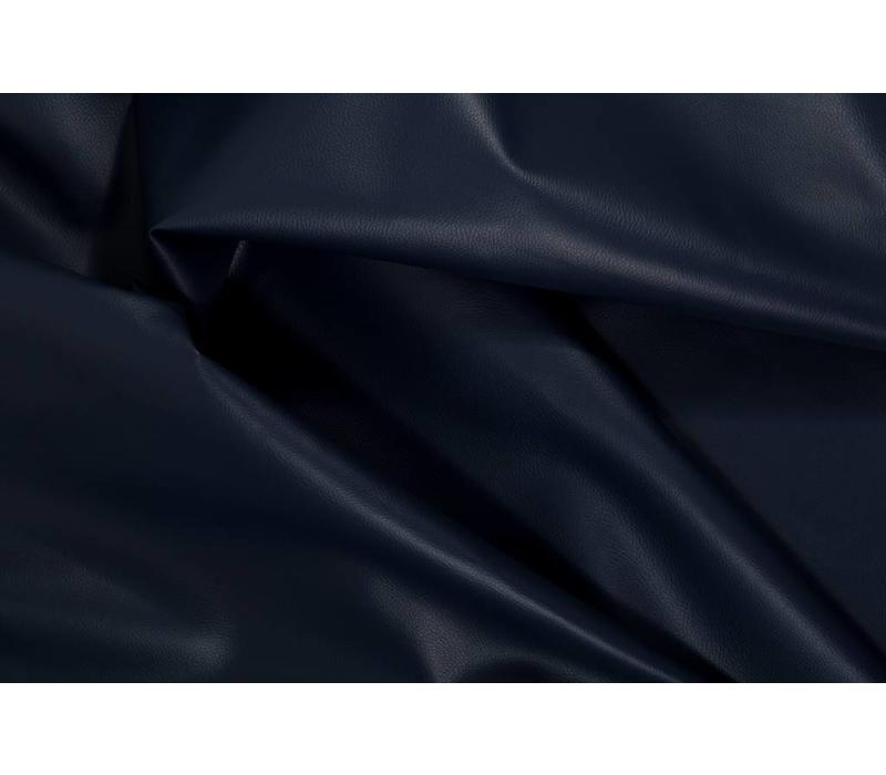 Faux-Leather Navy