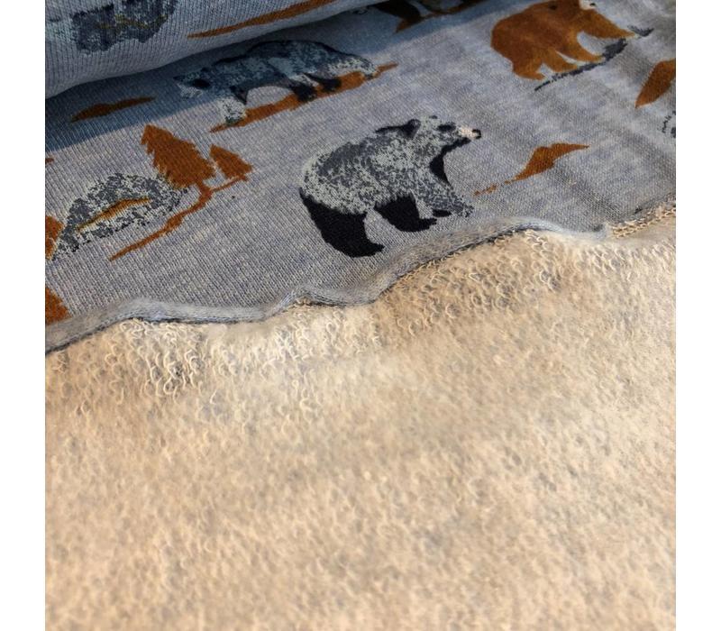 Sweater Bears blue melange