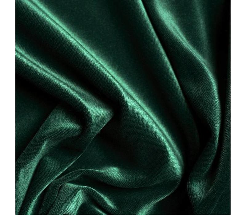 Fluweel Velvet emerald