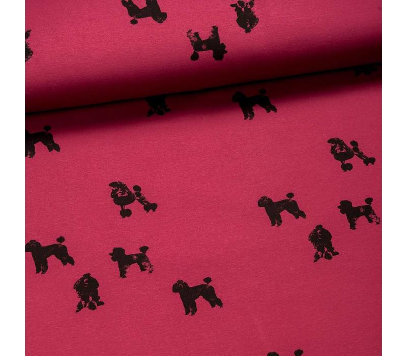 Sweater All Animals - Poodles Pink