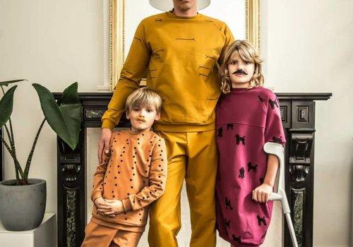 Chat Chocolat Sweater All Animals - Uni Ocre