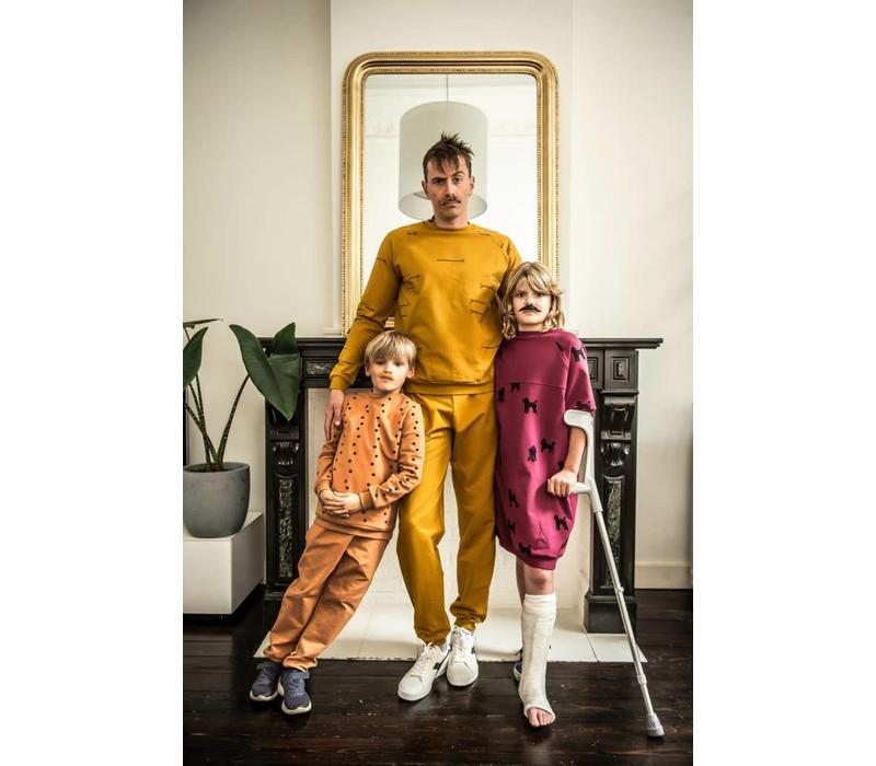 Sweater All Animals - Uni Ocre