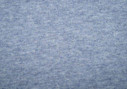 De Stoffenkamer Soft viscose sweater Blue Melange