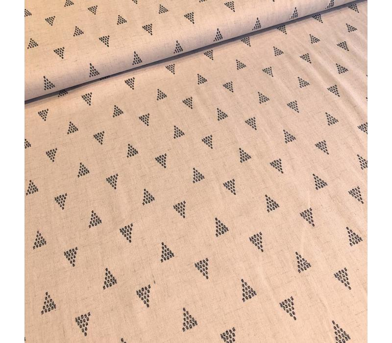 Linen Mix softpink shapes