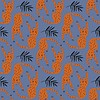 About Blue Fabrics Panther French Terry
