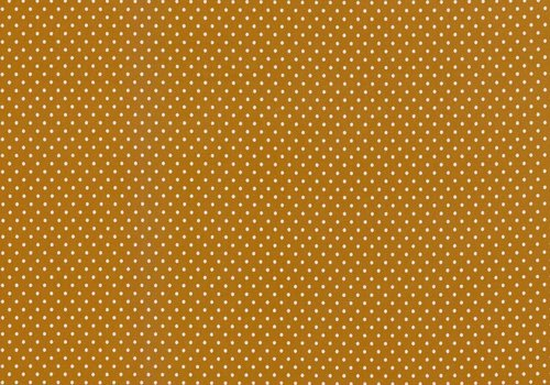 De Stoffenkamer Tricot Small Dots oker