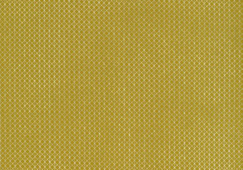 Cotton + Steel Netorious Mustard and silver
