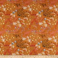 Cotton fusion collection - meadow rust