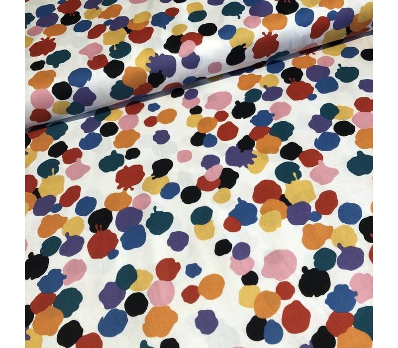 Cotton paint pallette