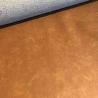 Faux-Leather Warm brown