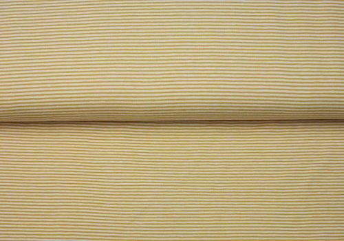 De Stoffenkamer Small stripes Oker