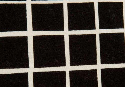 Eva Mouton Sweater Grid Black