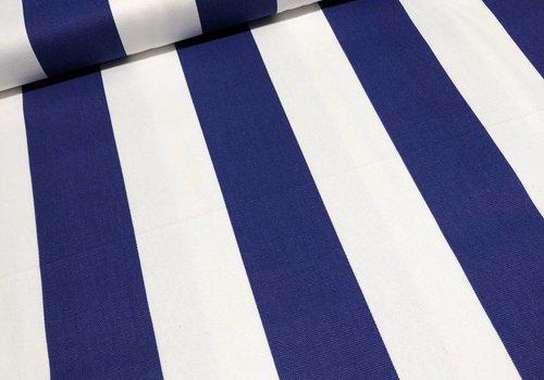 Rico Canvas stripes bright blue