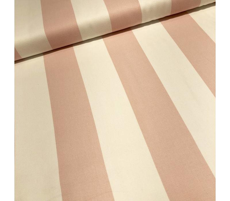 Canvas stripes pink