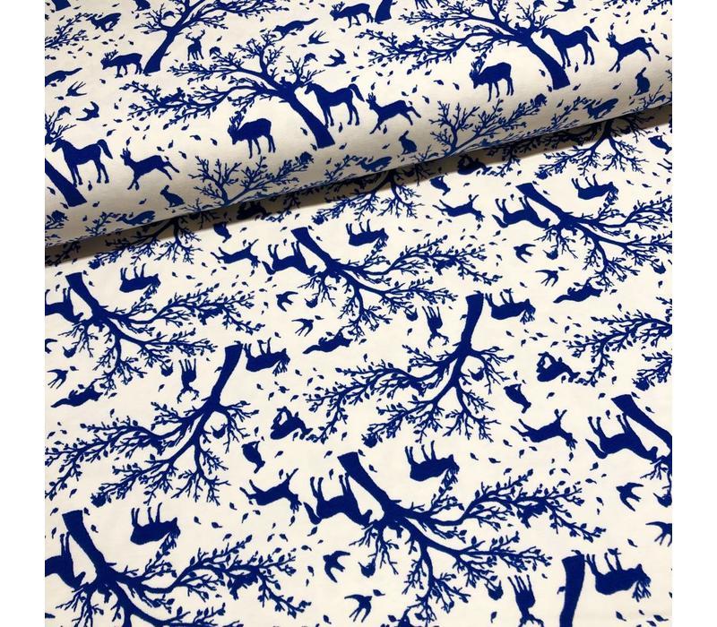 BIO Tricot blue deer