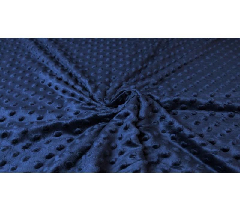 Minky Fleece Marineblauw