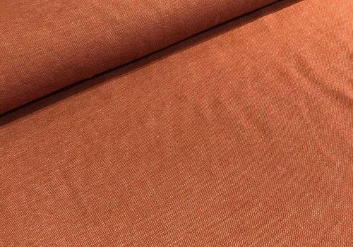 Lillestoff Tricot BIO Jeans Look Rust