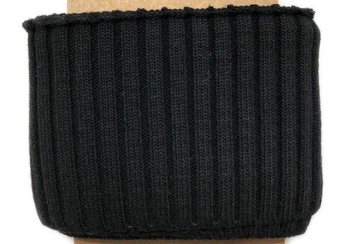 Albstoffe - Hamburgerliebe Cuff Me Cozy zwart