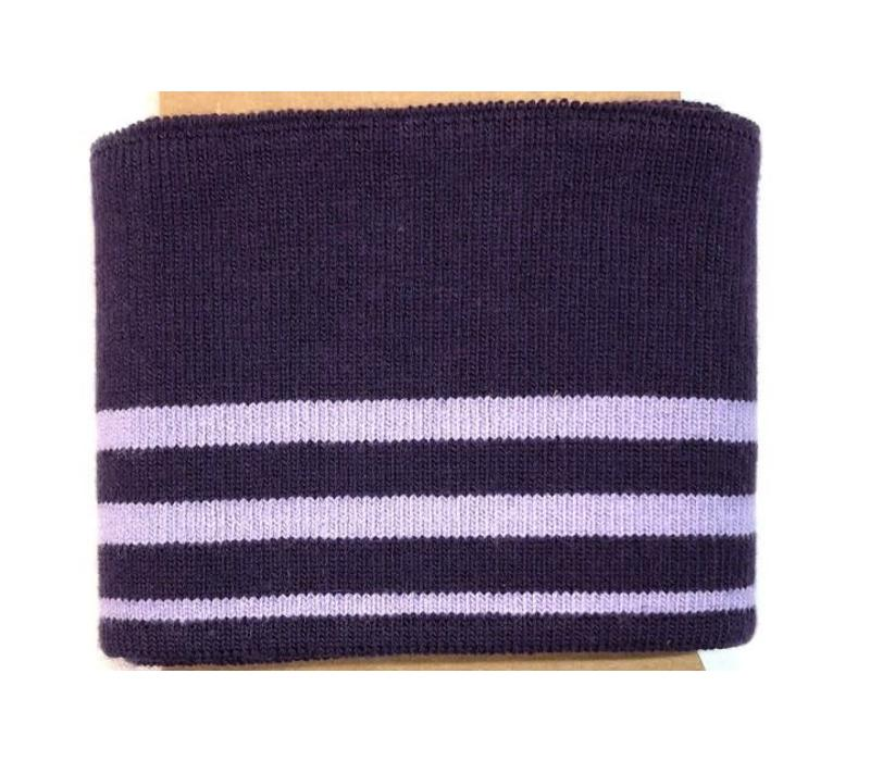 Cuff Me stripes purple
