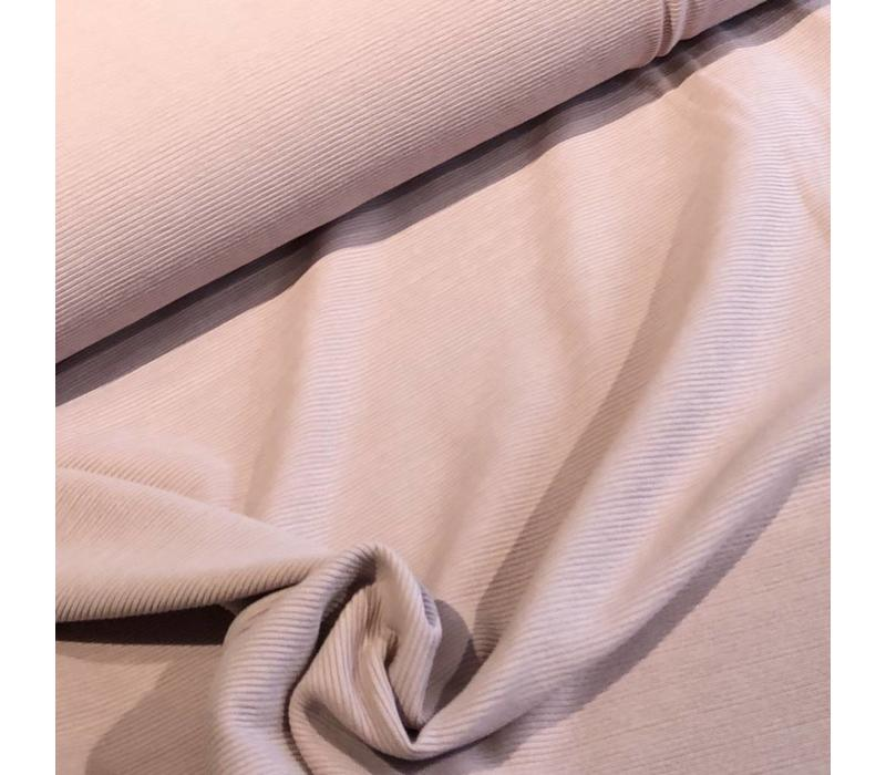 Tricot relief lines soft oldpink