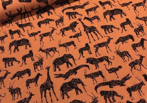 De Stoffenkamer Sweater Rusty safari