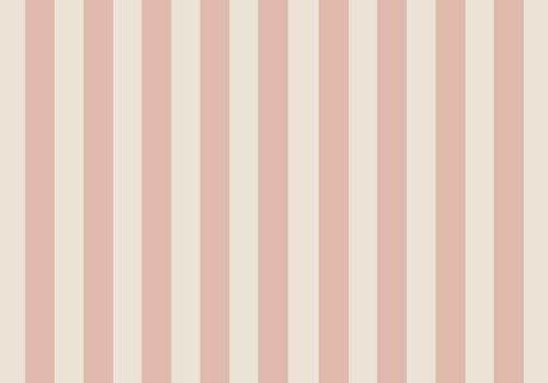 Elvelyckan Vertical dusty pink - creme