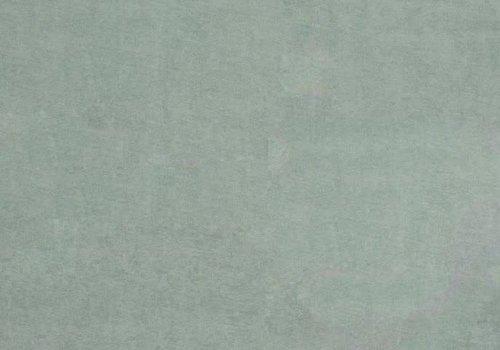 De Stoffenkamer Rekbare badstof - spons zacht grijsgroen