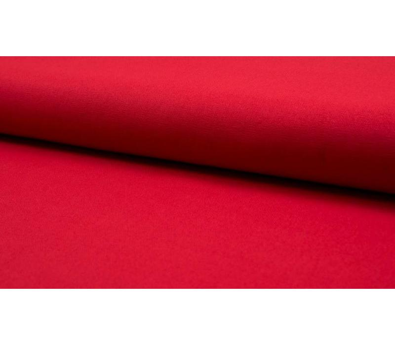Canvas gabardine warm rood
