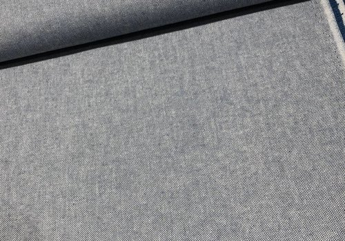 De Stoffenkamer Canvas geweven blue 280cm