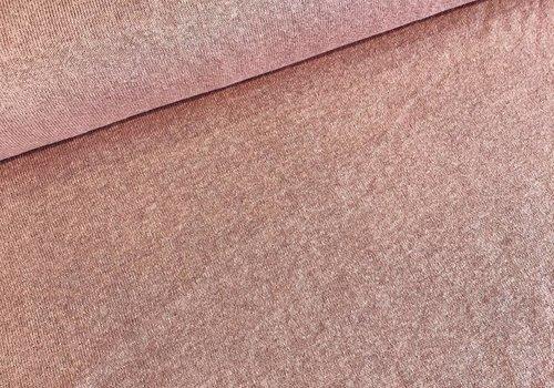De Stoffenkamer Soft cotton sweater salmon