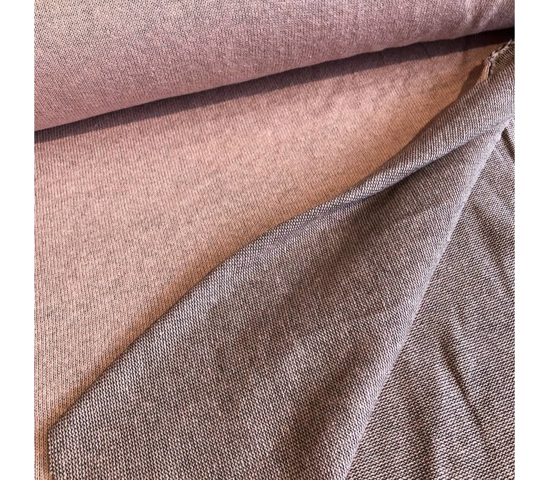 Soft cotton sweater salmon