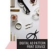 De Stoffenkamer A0 print service